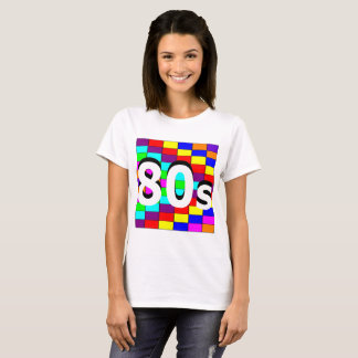 Sharnia's '80s Coloured Background' T-Shirt