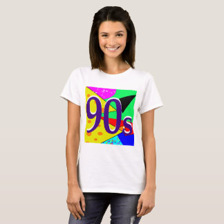 Sharnia's '90s Coloured Background' T-Shirt