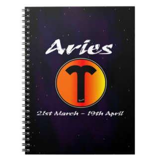 Sharnia's Aries Photo Notebook (80 Pages B&W)