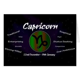 Sharnia's Capricorn Greeting Card