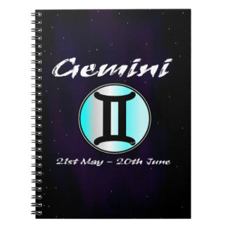 Sharnia's Gemini Photo Notebook (80 Pages B&W)