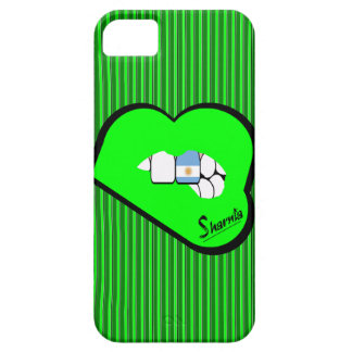 Sharnia's Lips Argentina Mobile Phone Case Gr Lip