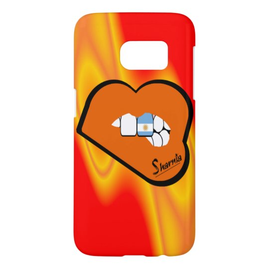 Sharnia's Lips Argentina Mobile Phone Case Or Lip