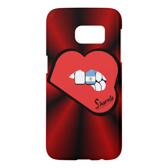 Sharnia's Lips Argentina Mobile Phone Case Rd Lip