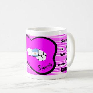 Sharnia's Lips Argentina Mug (PINK Lip)