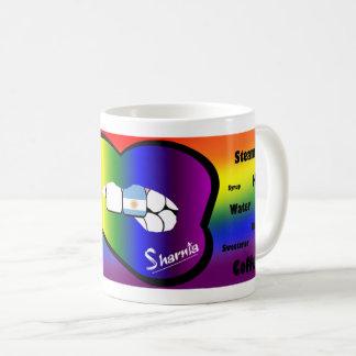 Sharnia's Lips Argentina Mug (RB Lip)