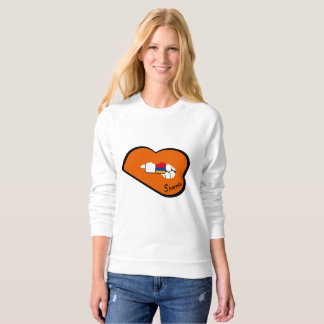 Sharnia's Lips Armenia Jumper (Orange Lips) Sweatshirt