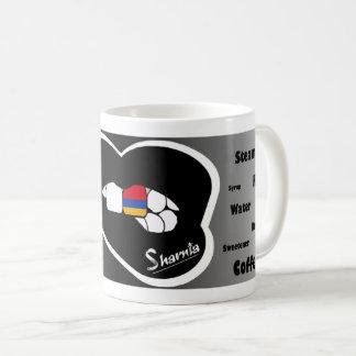 Sharnia's Lips Armenia Mug (Blk Lip)