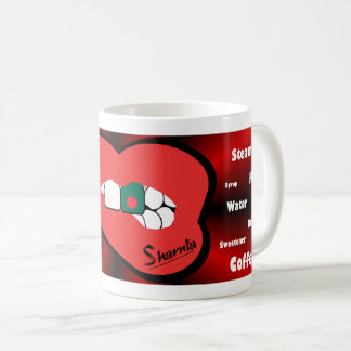 Sharnia's Lips Bangladesh Mug (RED Lip)