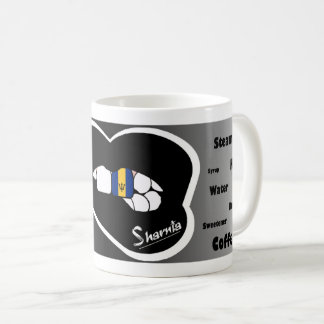 Sharnia's Lips Barbados Mug (Blk Lip)