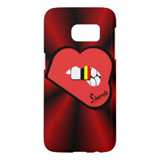 Sharnia's Lips Belgium Mobile Phone Case (Rd Lips)