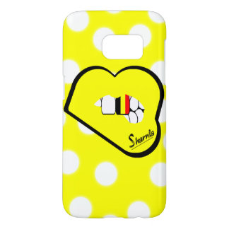 Sharnia's Lips Belgium Mobile Phone Case (Yl Lips)