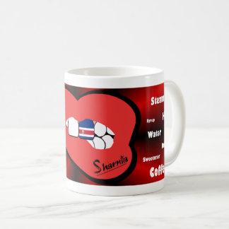 Sharnia's Lips Costa Rica Mug (RED Lip)