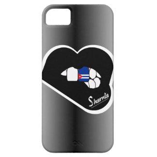 Sharnia's Lips Cuba Mobile Phone Case (Blk Lips)