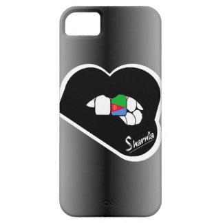 Sharnia's Lips Eritrea Mobile Phone Case Blk Lips