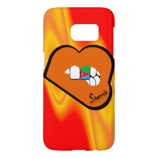 Sharnia's Lips Eritrea Mobile Phone Case (Or Lips)