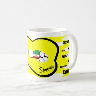 Sharnia's Lips Iran Mug (YEL Lip)