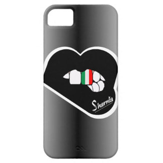 Sharnia's Lips Italy Mobile Phone Case (Blk Lips)