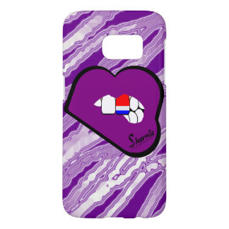 Sharnia's Lips Netherlands Mobile Phone Case Pu L