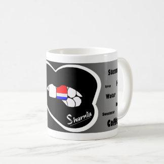 Sharnia's Lips Netherlands Mug (Blk Lip)