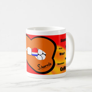 Sharnia's Lips Netherlands Mug (ORANGE Lip)