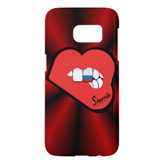 Sharnia's Lips Russia Mobile Phone Case (Rd Lips)
