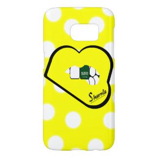 Sharnia's Lips Saudi Arabia Mobile Phone Case Yl L