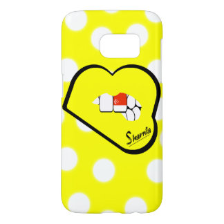 Sharnia's Lips Singapore Mobile Phone Case Yl Lp