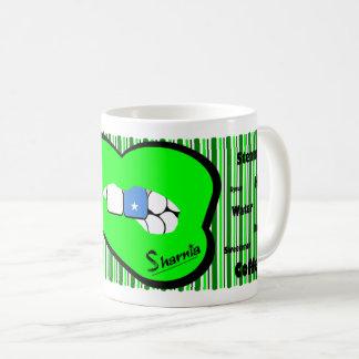 Sharnia's Lips Somalia Mug (GREEN Lip)