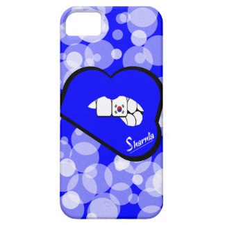 Sharnia's Lips South Korea Mobile Phone Case Blu