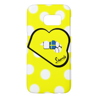 Sharnia's Lips Sweden Mobile Phone Case (Yl Lips)