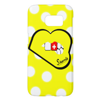 Sharnia's Lips Switzerland Mobile Phone Case Yl Lp