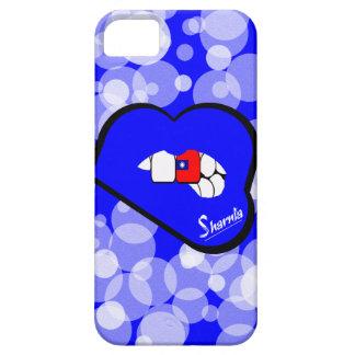 Sharnia's Lips Taiwan Mobile Phone Case (Blu Lips)