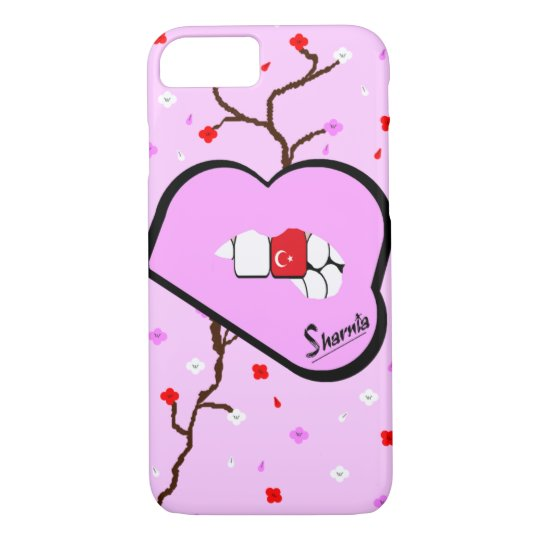 Sharnia's Lips Turkey Mobile Phone Case (Lp Lips)