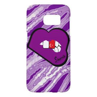 Sharnia's Lips Turkey Mobile Phone Case (Pu Lips)
