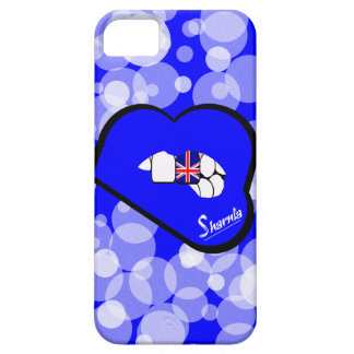 Sharnia's Lips UK Mobile Phone Case (Blu Lips)