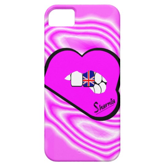 Sharnia's Lips UK Mobile Phone Case (Pk Lips)