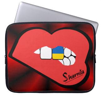 Sharnia's Lips Ukraine Laptop Sleeve (Red Lips)