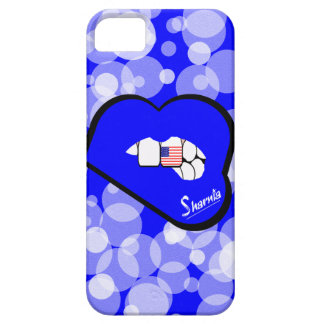 Sharnia's Lips USA Mobile Phone Case (Blu Lips)