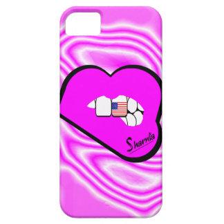 Sharnia's Lips USA Mobile Phone Case (Pk Lips)