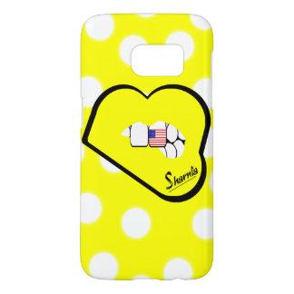 Sharnia's Lips USA Mobile Phone Case (Yl Lips)