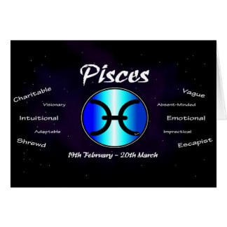 Sharnia's Pisces Greeting Card
