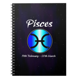 Sharnia's Pisces Photo Notebook (80 Pages B&W)