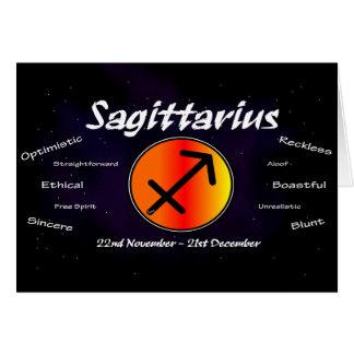 Sharnia's Sagittarius Greeting Card