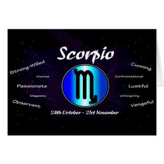 Sharnia's Scorpio Greeting Card