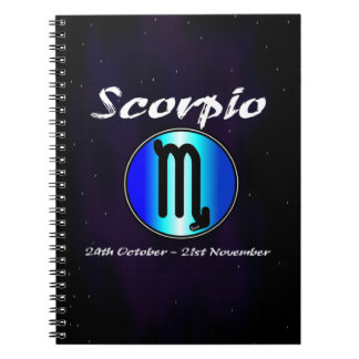 Sharnia's Scorpio Photo Notebook (80 Pages B&W)