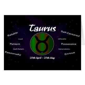 Sharnia's Taurus Greeting Card