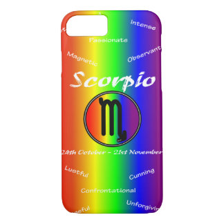Sharnia Scorpio Mobile Phone Case (Rainbow)