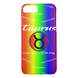 Sharnia Taurus Mobile Phone Case (Rainbow)