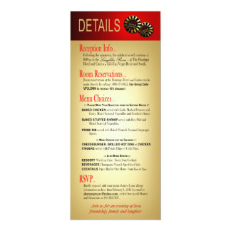 Sharon & Demetrius Details Las Vegas Deluxe Red Card